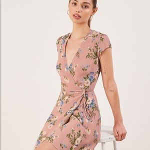 Reformation dawn dress in color Irene brand new